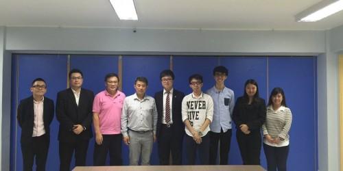 拜訪澳門中華學生聯合總會